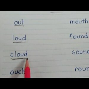 #ou words #how to teach a child to read #reading of #ou sound words with meaning #vowel #digraphs