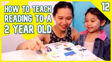 How to Teach Your 2 Year Old to Read  | How to Teach a Child to Read English Words