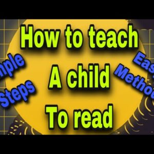 How To Teach a child to Read |Reading Using Phonetic Sounds |sight words| paragraph reading practice