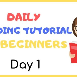 DAY 1: TEACH Your CHILD To READ FAST & FLUENT!   Just 10 minutes each day!
