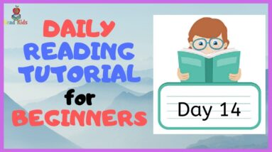 DAY 14: TEACH Your CHILD To READ FAST & FLUENT!   Just 10 minutes each day!