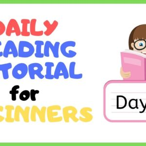 DAY 20: TEACH Your CHILD To READ FAST & FLUENT!   Just 10 minutes each day!