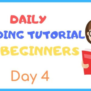 DAY 4: TEACH Your CHILD To READ FAST & FLUENT!   Just 10 minutes each day!