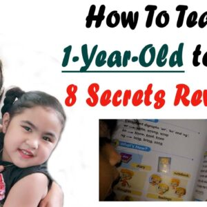 HOW TO TEACH A BABY TO READ | HOW TO TEACH A CHILD TO READ | PROVEN RESULTS TO A 1-YR-OLD REVEALED