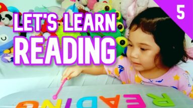 2 Year Old Kid Teaches Reading | How to Teach a Child to Read English Words