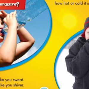 Temperature book / nonfiction books / teach English/ teach reading/ have fun teaching / kids books