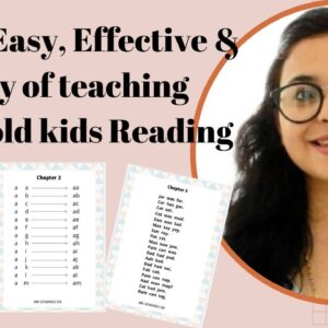 HOW TO TEACH 3+ YEARS OLD KIDS READING (Step by Step Guide) | Gautam Pragya