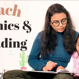 How to TEACH child PHONICS and to READ (fast & easily) // Gautam Pragya