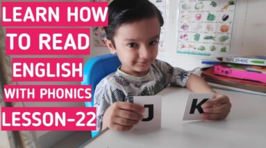 How to teach english reading with phonics| phonics for kids| lesson-22