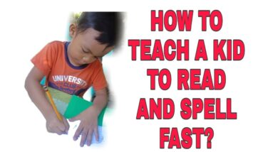 HOW TO TEACH KIDS TO READ AND SPELL FAST. LETTER SOUNDS. PHONICS