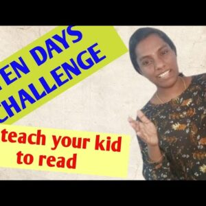 #kidsreading How to teach a child to read with in 10 days.