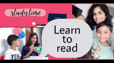 How to Teach child to read in a easy way / phonic sounds / kids activities/ learn to read - 1