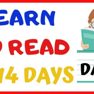 LEARN TO READ IN 14 DAYS  -----DAY 2-----