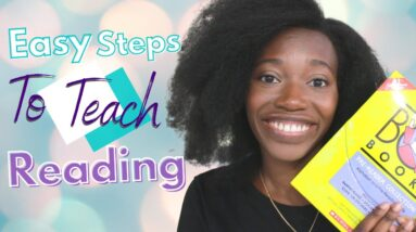 How to teach your child to READ in 2020 || SIMPLE & EFFECTIVE tips that work