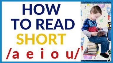 PRACTICE READING 3 LETTER BLENDING -SHORT /a  e  i  o  u / SOUNDS
