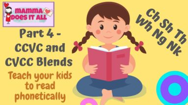 Teach your kids to read phonetically - Part 4 | Digraphs and HFW | All About Phonics
