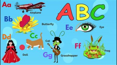Learn the English Alphabet / The Letters ABC for children