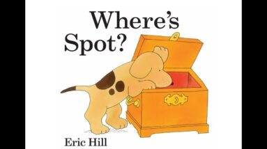 Where's Spot? / Easy English reading video for Kids