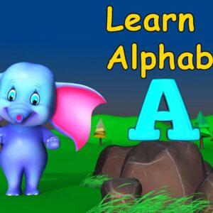 Learn easy english alphabets for kindergarten children and for lkg class kids ukg class 1