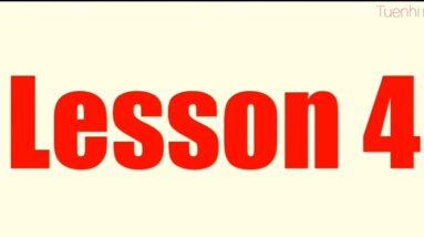 Lesson 4 | English for Children | Easy english